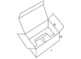 pudełko z kartonu 0215