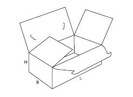pudełko z tektury falistej 0218