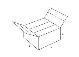 skrzynka z kartonu 0229