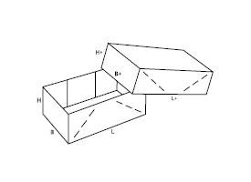 składane pudełko z tektury 0304