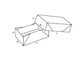 składane pudełko tekturowe 0309