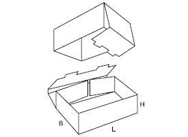 składane pudełko tekturowe 0330