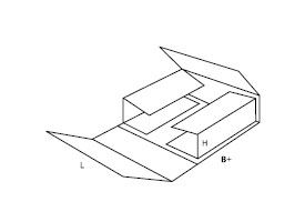 pudełko z tektury falistej 0405