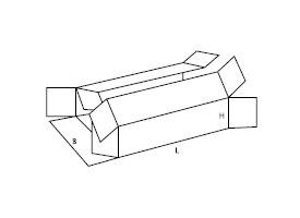 pudełko kartonowe 0411