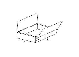 pudełko z tektury falistej 0412
