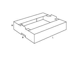 pudełko z tektury falistej 0436