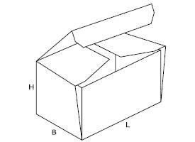 pudełko z tektury falistej 0443