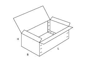 pudełko z tektury falistej 0607