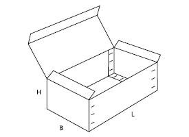 pudełko z kartonu 0608