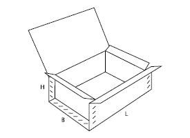 pudełko kartonowe 0610