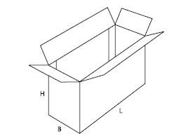 pudełko z tektury falistej 0620