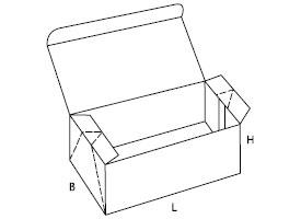pudełko z tektury falistej 0748